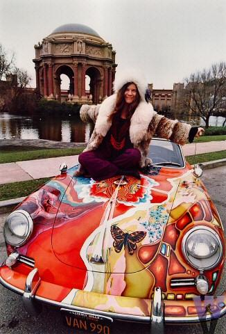 Janis Joplin - Photo by Jim Marshall, supplied by Paul Matsumoto