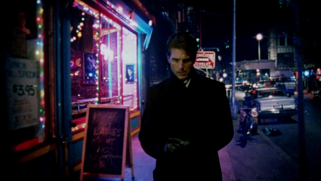 Tom Cruise in 'Eyes Wide Shut' 1999. Director: Stanley Kubrick.