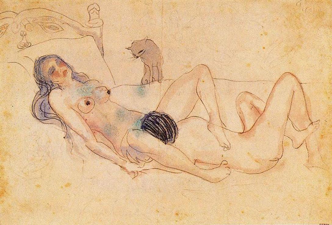 Рисованный секс мужчины и женщины 21 фотография