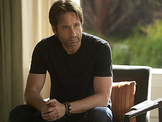David Duchovny plays sex addict Hank in Californication. Photo: Jordin Althaus/Showtime