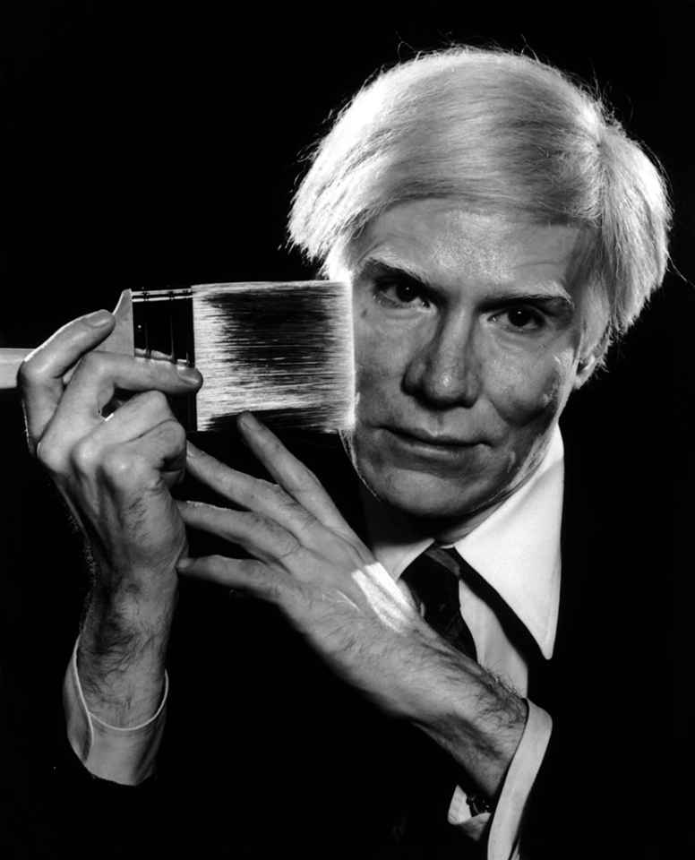Yousuf Karsh. Andy Warhol, pictured in 1979.